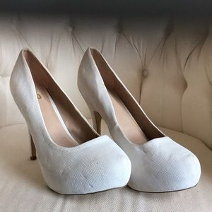 These are used heels about 6 inches is height